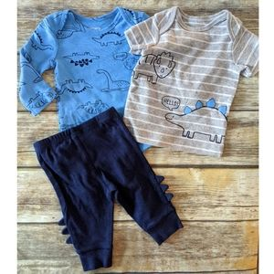 Nwt Carter's 3 piece outfit set